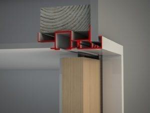 Slimline Architrave Bulkhead Timber (V)